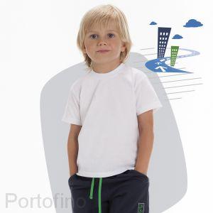 Футболка для мальчиков Cornette (Белая)