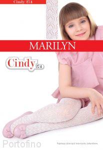 Marilyn Cindy 274 колготки для девочек с рисунком .