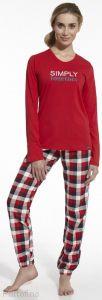 673-42 женская пижама футболка и брюки Cornette