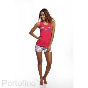 659-71 Cornette пижама женская маечка и шорты
