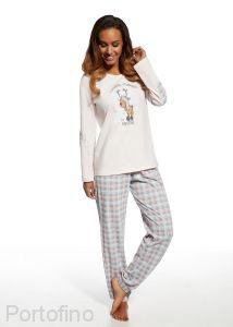 685-98 женская пижама футболка и брюки Cornette