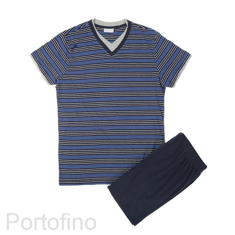 PJ001 пижама мужская Gentlemen