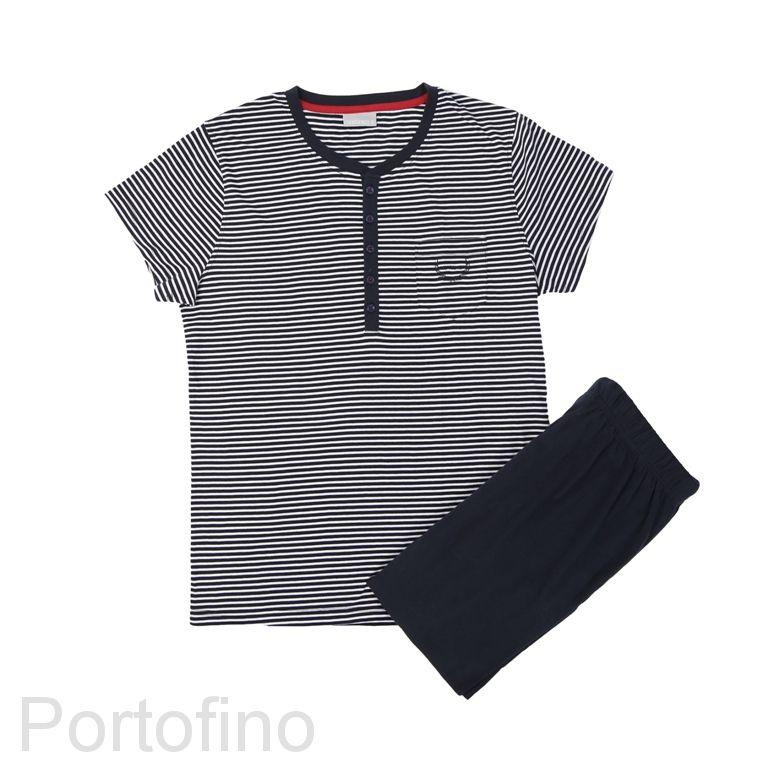 PJ002 пижама мужская Gentlemen