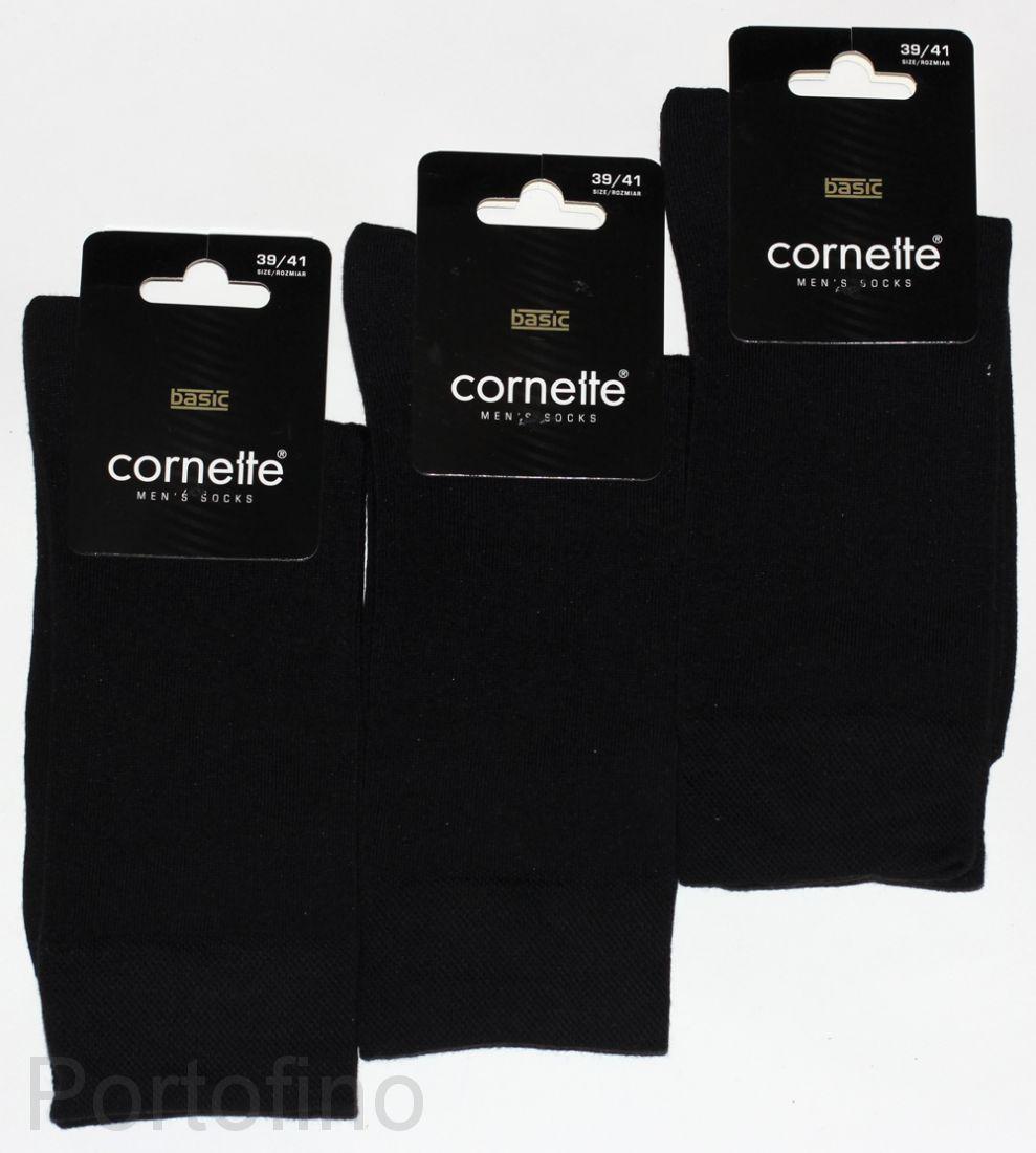 Мужские носки Cornette Basic (хлопок)